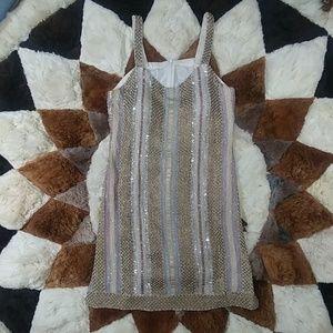 Vintage Beaded Tunic Dress